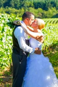 Wedding in a vineyard Italy